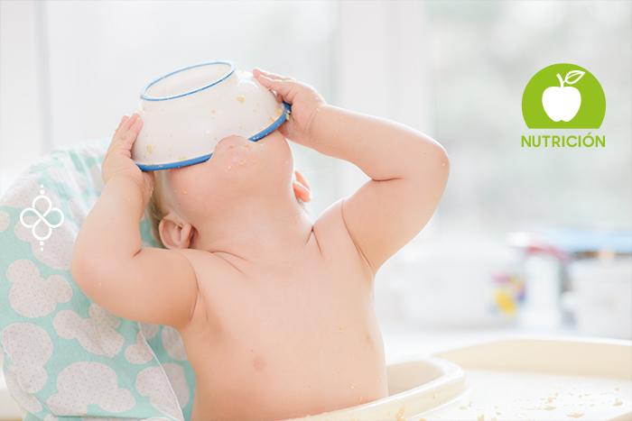 Dieta saludable para bebés de un año