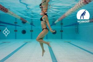 ejercicios aerobicos para piscina