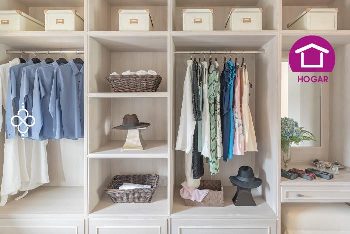Cómo organizar un closet