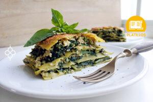 lasana vegetariana