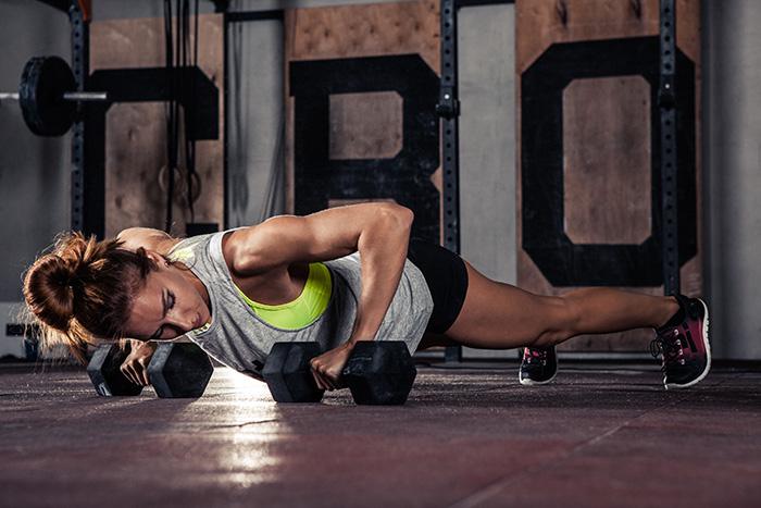 crossfit ejercicio