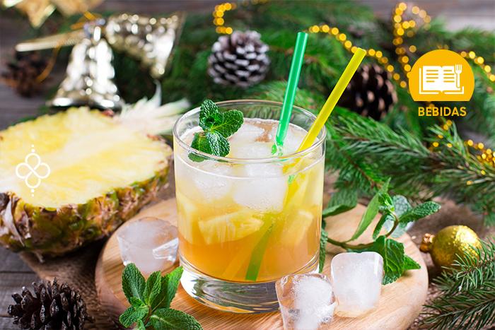 Coctelería Navideña: Limonada tropical