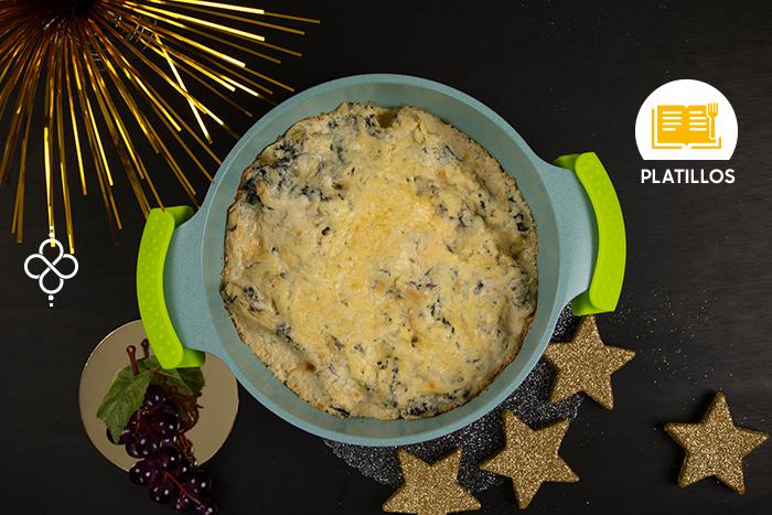 Especial Año Nuevo: Canelones vegetarianos con espinaca