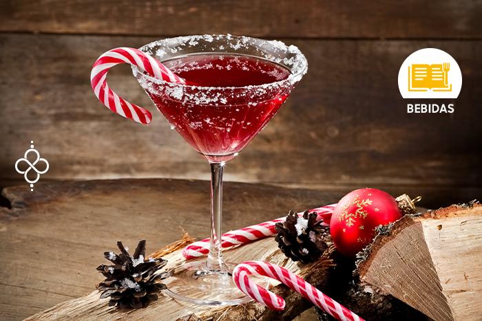 Coctelería Navideña: Martini Rojo