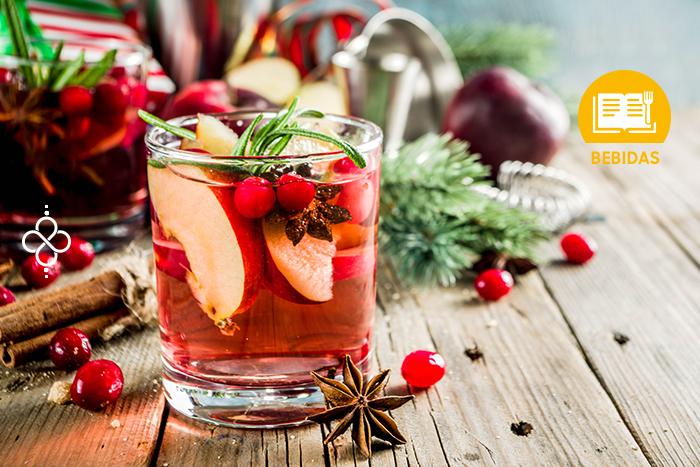 Coctelería Navideña: Sangría de vino blanco