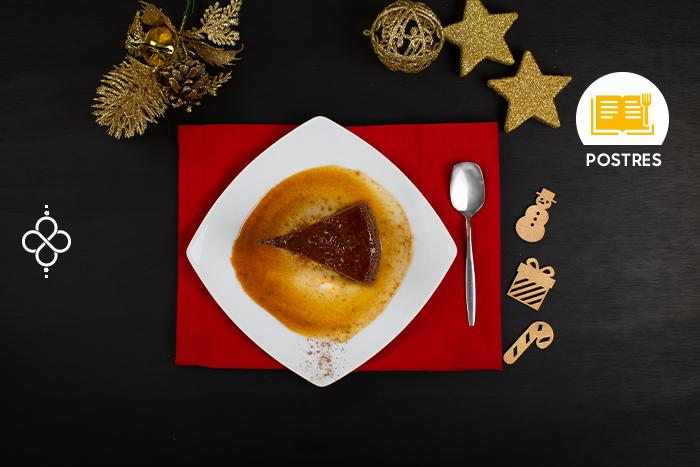 Especial de Navidad: Flan de chocolate
