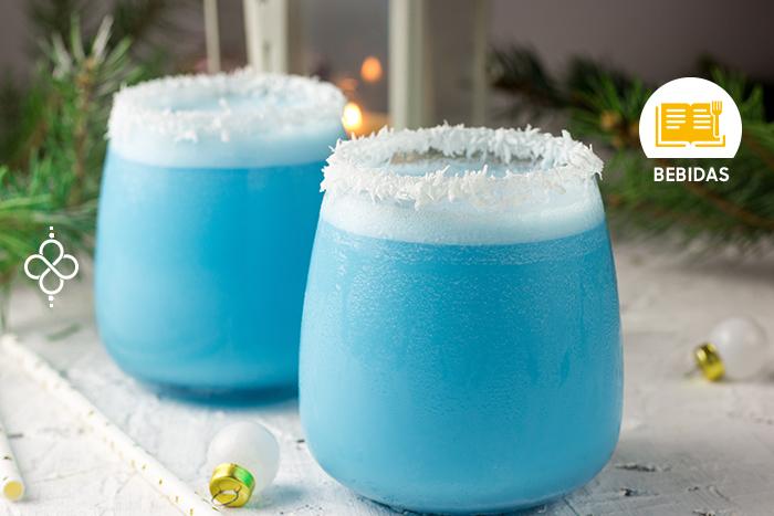 Coctelería Año Nuevo: Pitufo azul