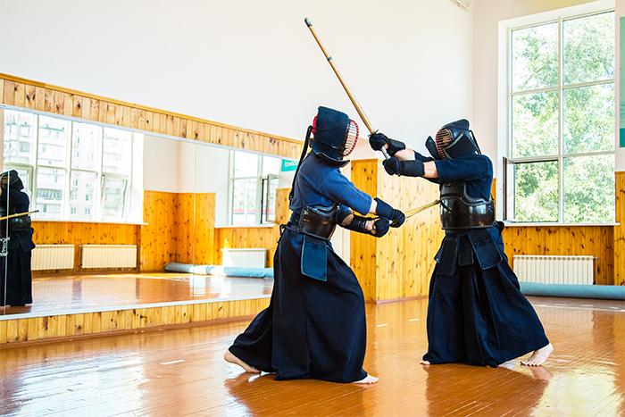 Practica kendo