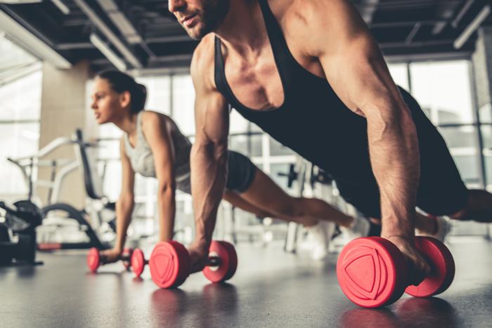 ejercicios para brazos con mancuernas