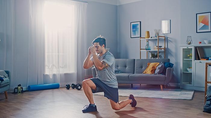 ejercicio en casa entrenamiento