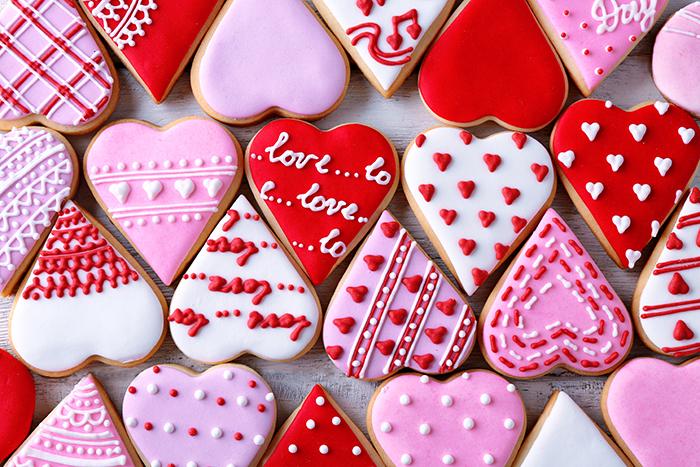 galletas decoradas de corazon