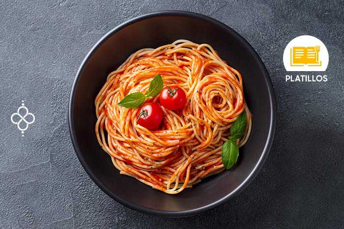 Spaghetti rojo