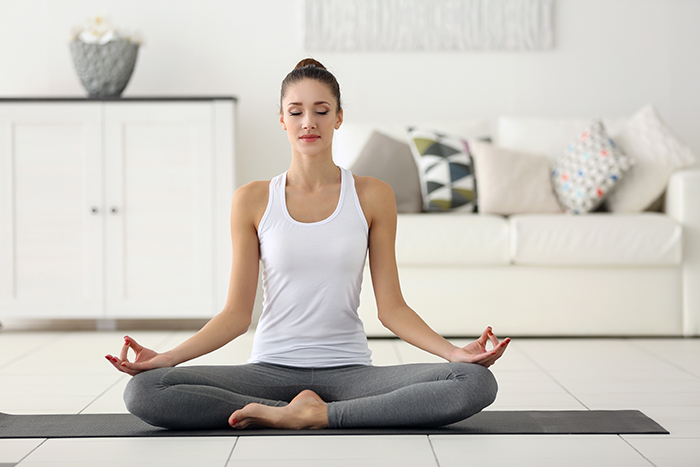 Ejercicio de meditación