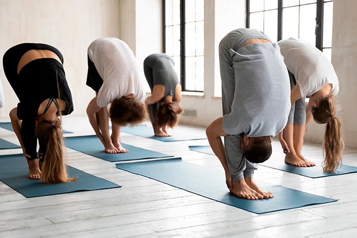 rutina de power yoga