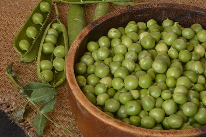 sopa de guisantes verdes